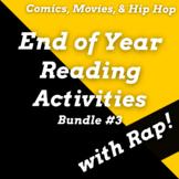 Fun End of Year Reading Activities Using Rap Songs Bundle