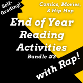 Fun ELA activities for the End of the Year Using Rap Songs