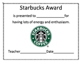 Store Themed End of the Year Awards