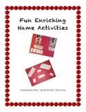 Fun Enriching Name Activities