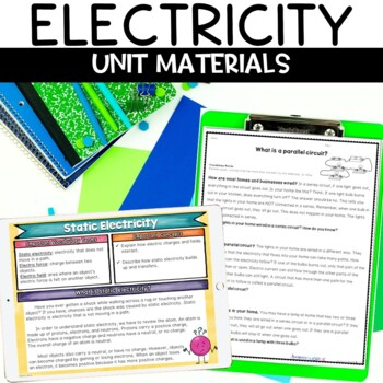 Electricity Unit with Hands-on Activities and Nonfiction Articles