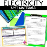 Electricity Unit with Hands on Activities Nonfiction Articles Assessments