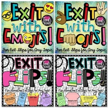 Fun Exit Slips Bundle