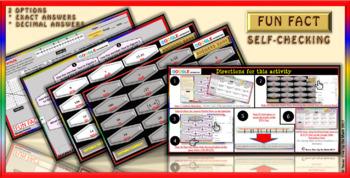 Fun Fact: Distance Formula - 2 Option Answers (Google Interactive & Hard Copy)