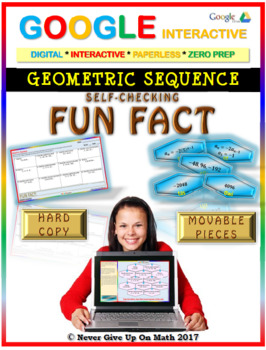 Fun Fact: Geometric Sequences (Google Interactive & Hard Copy)