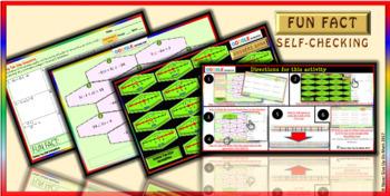 Fun Fact: Solve 2-Step Inequalities (Google Interactive & Hard Copy)