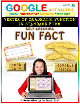 Fun Fact: Vertex of Quadratic Function in SF (Google Interactive & Hard Copy)