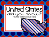 Fun Facts {50 states} *free*