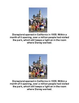 Fun Facts About Walt Disney Emergent Reader