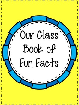 Fun Facts! An Activity Using Nonfiction Text to Find Details