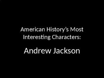 Fun Facts Andrew Jackson