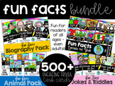 Fun Facts BUNDLE {Self-Checking Task Cards}
