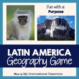 Latin American Fun Facts, Game, Answer Key, PowerPoint, Maps, Photographs