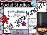 Fun Facts  PRESIDENTS writing, bulletin board,note-taking  #presidentsdayhalfoff