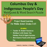 Fun Facts about Columbus Day WebQuest / Internet Scavenger Hunt