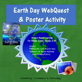 Fun Facts about Earth Day WebQuest & Poster Activity | Distance Learning