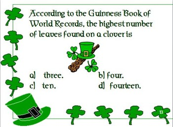 St. Patrick's Day Fun Facts