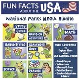Fun Facts about USA National Parks MEGA Bundle