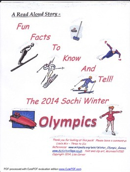 Fun Facts about the Winter Olympics!