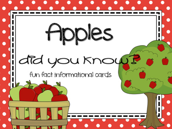 Fun Facts {apples}