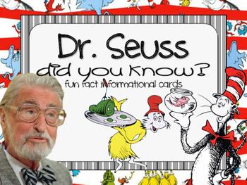 Fun Facts {dr. seuss}