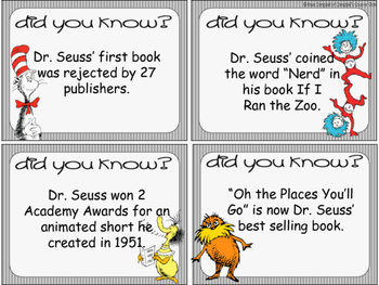 Fun Facts {dr. seuss}