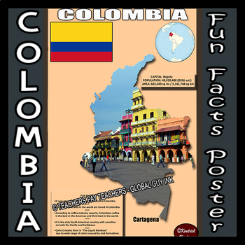 Fun Facts on Colombia Poster # 1