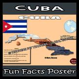 Cuba Poster - Fun Facts