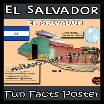 Fun Facts on El Salvador Poster #2
