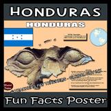 Honduras Poster - Fun Facts