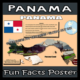 Panama Poster - Fun Facts