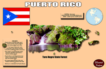 Fun Facts on Puerto Rico Poster #1