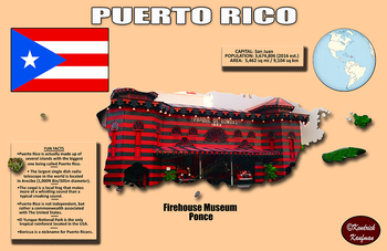 Fun Facts on Puerto Rico Poster #2