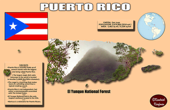 Fun Facts on Puerto Rico Poster #4
