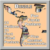 BUNDLE Spanish Speaking Countries Posters - Fun Facts