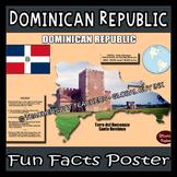 Dominican Republic Poster - Fun Facts
