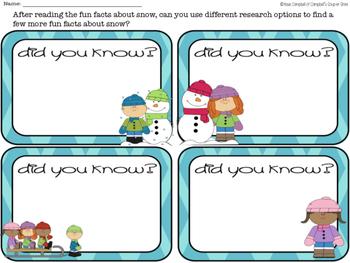 Fun Facts {snow}
