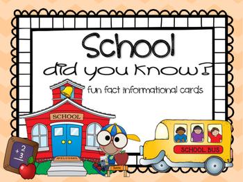 Fun Facts {school}
