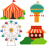 Fun-Fair Frolics - Poem - A Great Day of Roller Coasters &