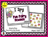 Fun Fairy Houses - Adapted 'I Spy' Easy Interactive Reader