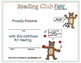 Fun Fall Activities and Sports Crossword Puzzles, Reading Log & Certificate