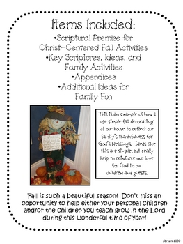 """Fun Fall Ideas to Help Your Family """"Fall"""" in Love with Jesus"""
