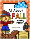 Fall Fun Learning Packet