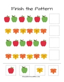 Fun Fall Math Pages