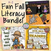 Fun Fall Reading, Writing Activities Bundle!