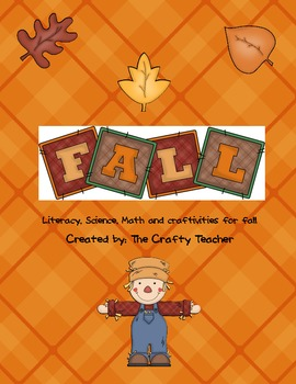Fun Fall Unit! Literacy, Math and Science Activities
