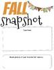 Fun Fall Writing Slides