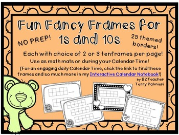 Fun Fancy Frames for 1s and 10s