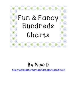 Fun & Fancy Hundreds Charts