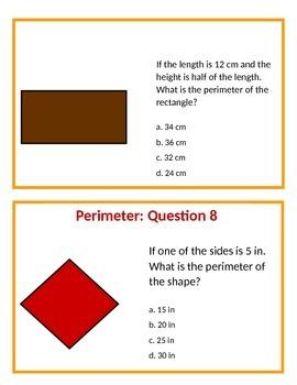 Fun Farm Glide: Perimeter Problem Solving (Question Set A)